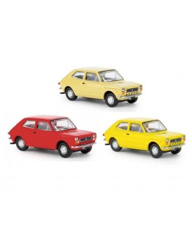 Tris FIAT 127 - BK22500+22501+22502