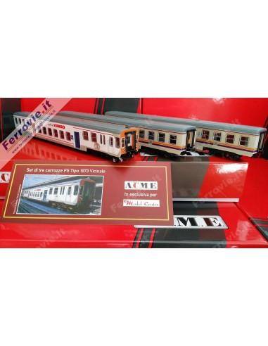 ACME 90148 - Set carrozze piano...
