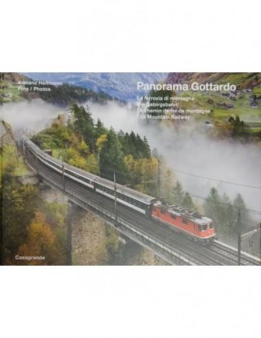 Panorama Gottardo - La ferrovia di...