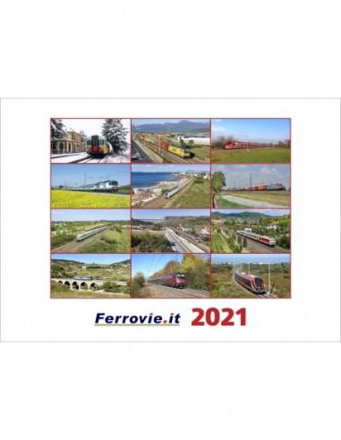 Calendario Ferrovie.it 2021 da parete
