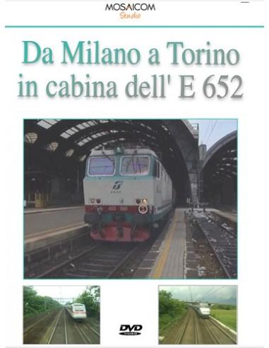 Da Milano a Torino in cabina dell'E.652