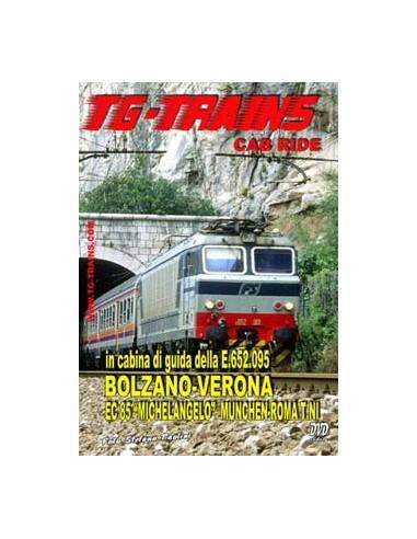 Bolzano-Verona - In cabina di guida...
