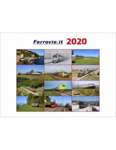 Calendario Ferrovie.it 2020 da parete