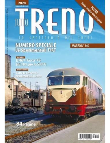 Tutto Treno n.349 - Le sperimentali FIAT