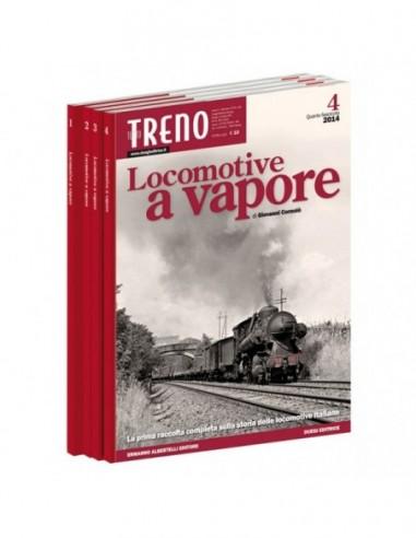 Fascicolo Locomotive a Vapore - IV...