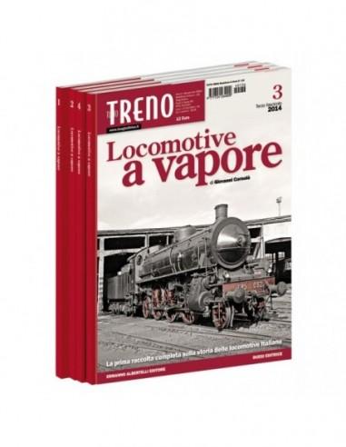 Fascicolo Locomotive a Vapore - III...