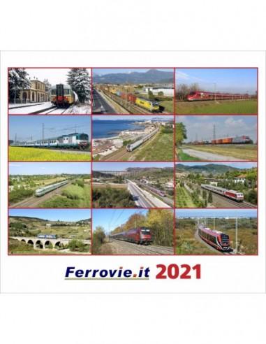 Calendario Ferrovie.it 2021 da tavolo